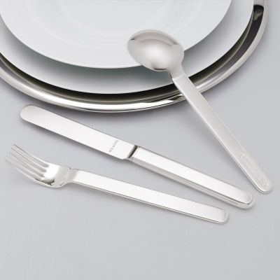 Silver Plated Cutlery Set - 4 Pieces - Epoca in 180g Silver Plated