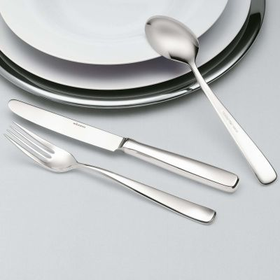 Silver Plated Cutlery Set - 4 Pieces - Opera in 180g Silver Plated